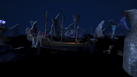 Ship Graveyard - How to Train your Dragon